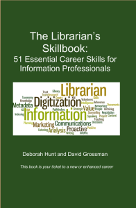 librarians skill book