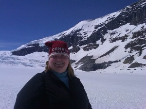 """Tracy Maleeff, the """"Library Sherpa,"""" visits Alberta, Canada."""