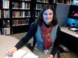 Lois Ireland in her office at Freddie Mac.